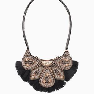 Stella & Dot Constantine Feather Necklace - NWT